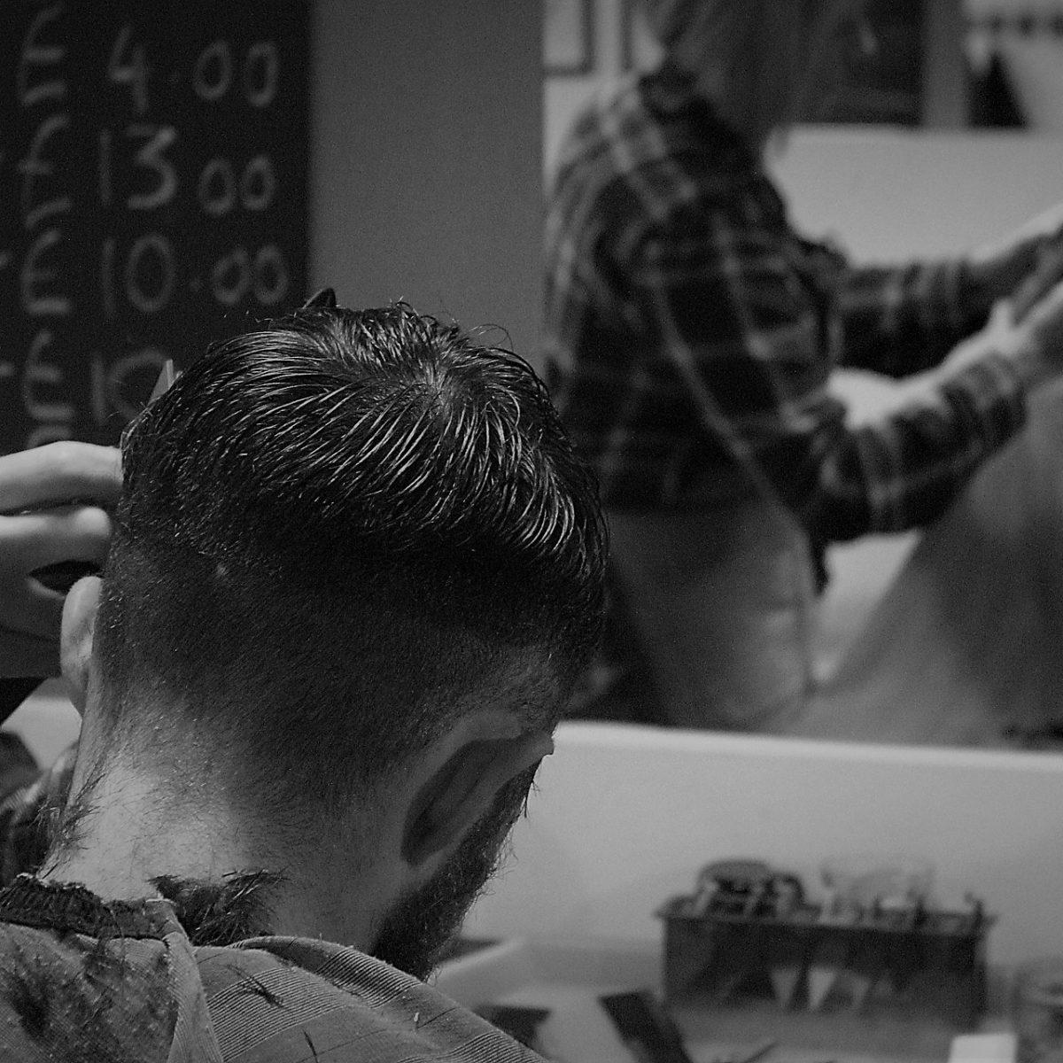 Klippning av hår
